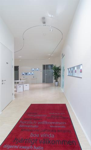 Eingangsbereich Bildungszentrum